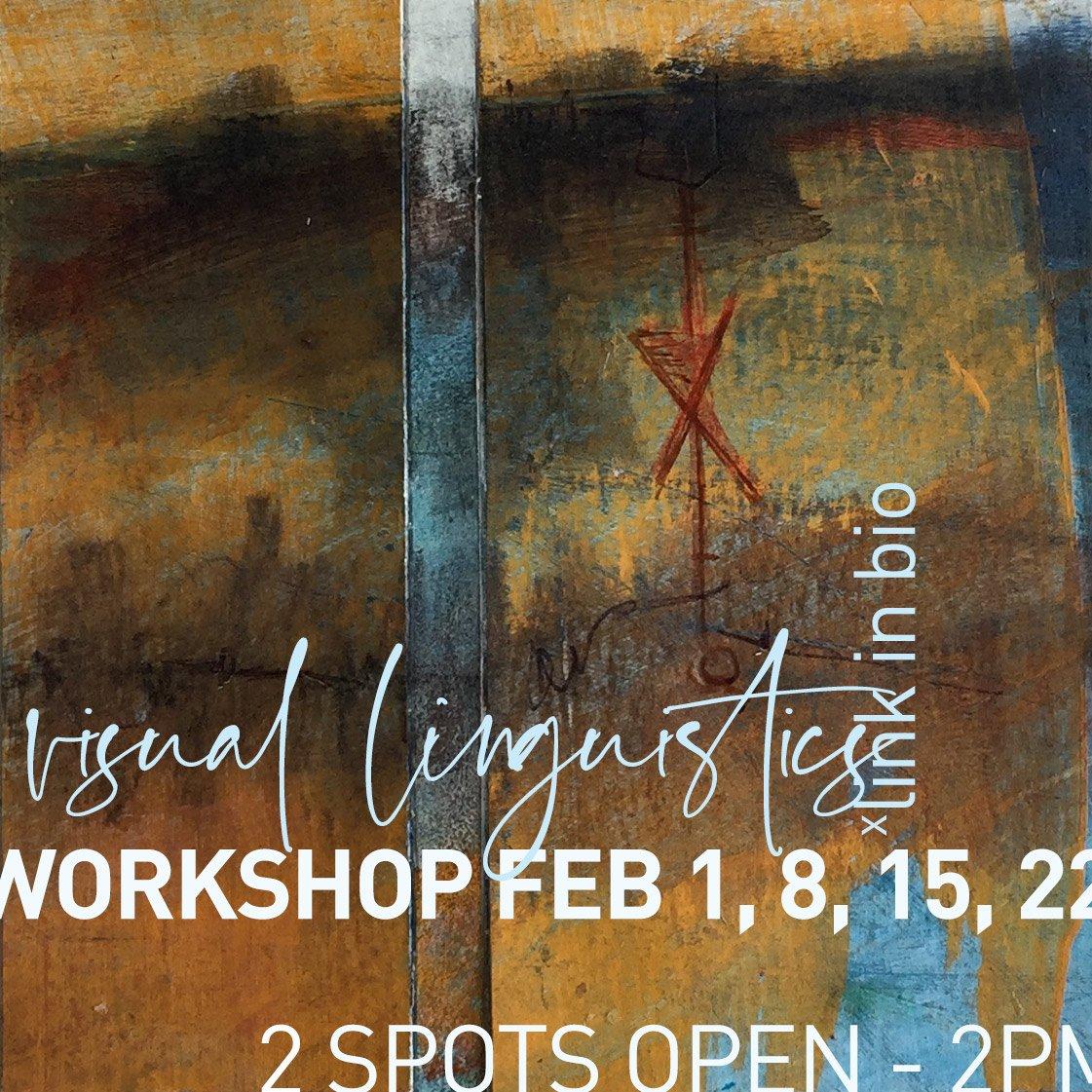 Visual Linguistics Artists Workshop